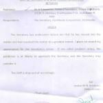 Ombudsman 3rd Order on Kattuvayal Colony Issue, 14-06-2013