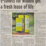 e-toilets for women get a fresh lease of life