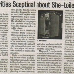 Authorities Sceptical about She-toilets