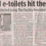 Revamped e-toilets hit the right note