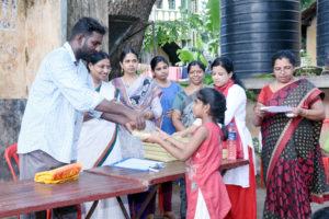 Nadakkavu colony Note book distribution 3
