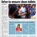 Drive to ensure clean toilets